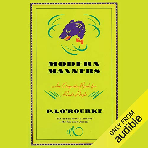 Modern Manners audiobook cover art
