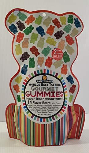 Gourmet Gummies Super Bear Assortment - 14 Flavors