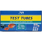 API Replacement Test Tubes with Caps for Any Aquarium Test Kit Including Freshwater