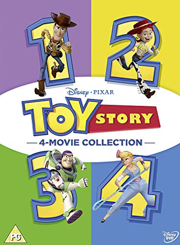 Toy Story 1-4 Complete (4 Dvd) [Edizione: Regno Unito]