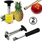 Pineapple Corer and Apple Corer - Pineapple Corer Slicer Peeler...