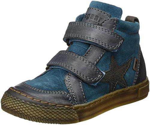Bisgaard Unisex-Kinder Klettschuhe Hohe Sneaker, Grün (1006-2 Petrolio), 32 EU