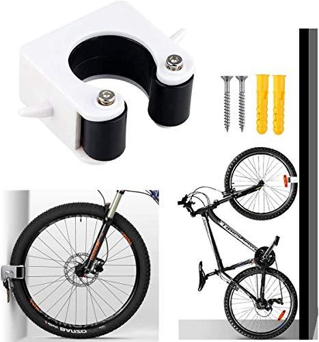 Soporte de Bicicleta Gancho Soporte de Almacenamiento de Bicicletas Montado en la Pared Soporte de Suspensión para el Garaje Soluciones de Almacenami