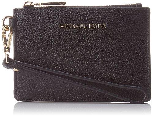 Michael Kors Money Pieces, Portafoglio Donna, Nero (Black), 5x15x20 cm (W x H x L)