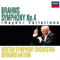 ブラームス:交響曲第4番、ハイドン変奏曲