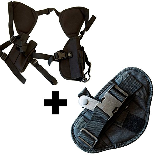 Under Control Tactical Best Concealed Carry Holster & Car Holster Bundle for Gun Lovers Idea for 1911, Pistol, Handgun Enthusiasts