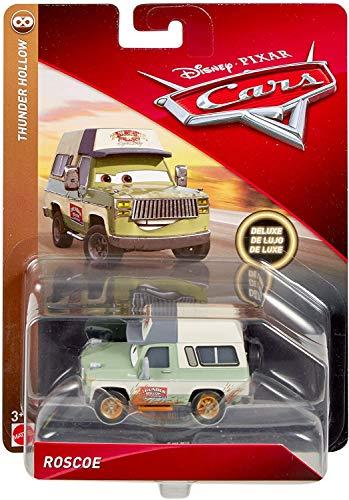 Disney Pixar Cars Roscoe Thunder Hollow Deluxe Die-cast Vehicle