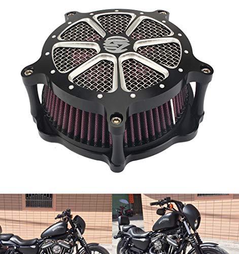 Motor Deep Cut Luftfilter Soft Tail Modifizierte SD Große Luftfilter Harley FLHR FLHT FLHX 08-15 XL883 1200 48