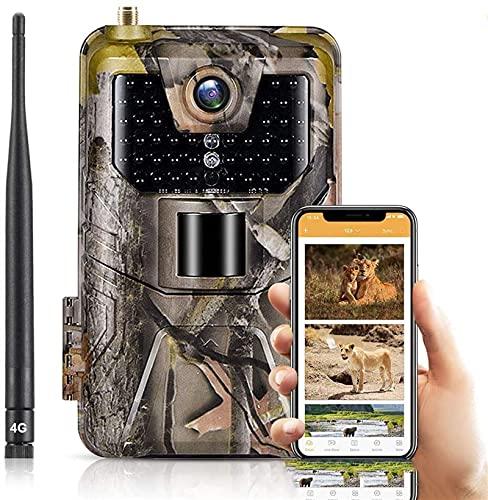 YAOSHI Cámara de Caza 4k Video en Vivo App Control Trail Camera...