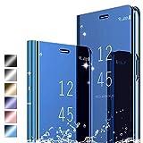 Hikissny für Oppo Realme 5s Hülle, Smart Spiegel Mirror