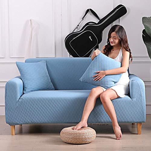 Fsogasilttlv Couchbezug Sofa Couch üBerwüRf 3-Sitzer, Thick Sofa Protector Massiv Bedruckte Sofabezüge für Lounge, Couchbezug Ecksofa Schonbezug L Form 1St