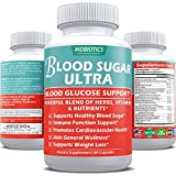 Blood Sugar Ultra - Blood Sugar, Immune System, Cardio, Weight Loss Support* - Gluten Free, Non-GMO - Made in USA - 60 Veggie Capsules