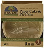 If You Care FSC Certified Paper Cake and Pie Baking Pans, 4-Count