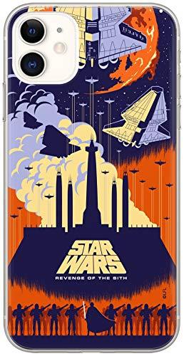 Estuche para iPhone 11 Star Wars, Guerra de Las Galaxias, Original con Licencia Oficial, Carcasa, Funda, Estuche de Material sintético TPU-Silicona, Protege de Golpes y rayones