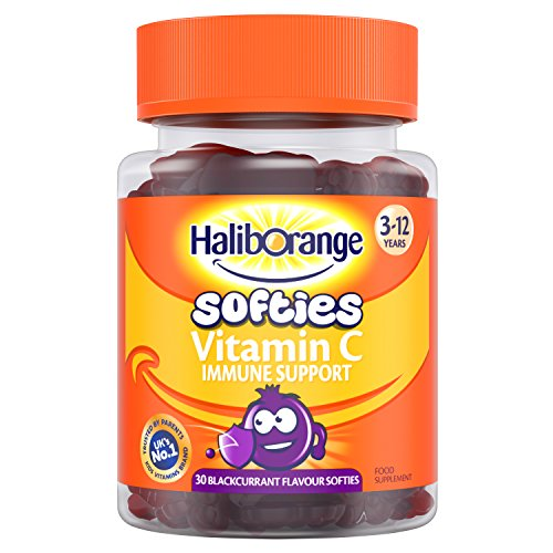 Haliborange Kids Blackcurrant Vitamin C Immune softies 30