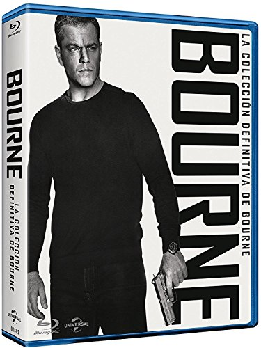 Pack 5 Películas: Jason Bourne (BD) [Blu-ray]