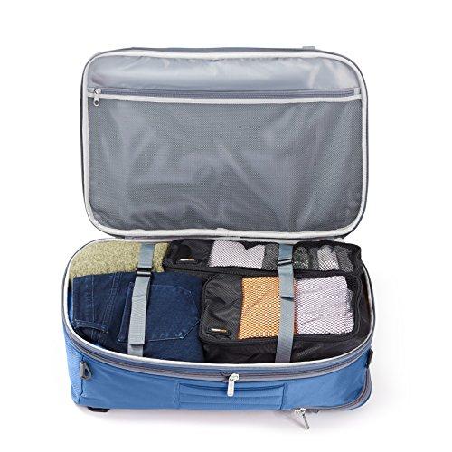 AmazonBasics Carry On Travel Backpack - Navy Blue