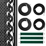 Hanperal 4Pcs Zero Gravity Chair Replacement Cords with 3Pcs Reinforced Belts, Bungee Elastic Cords and Belts for Gravity Chair Accessories Patio Recliner Chair Repair Kit