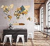 3D World Map Wood Map Wall Art Wood Wall Art Wooden Map Wood World Map Rustic World Map Travel Map World Map Wall Decor Christmas Gift Christmas Decor