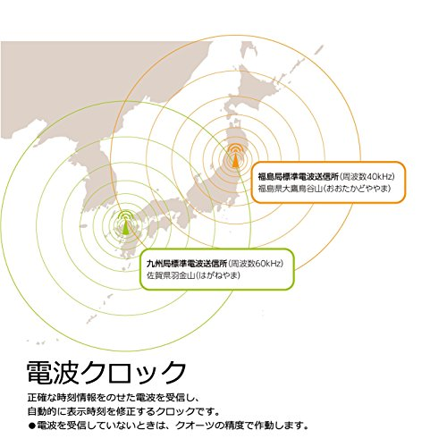 SEIKO(セイコークロック)『置時計電波クロック(BY237G)』