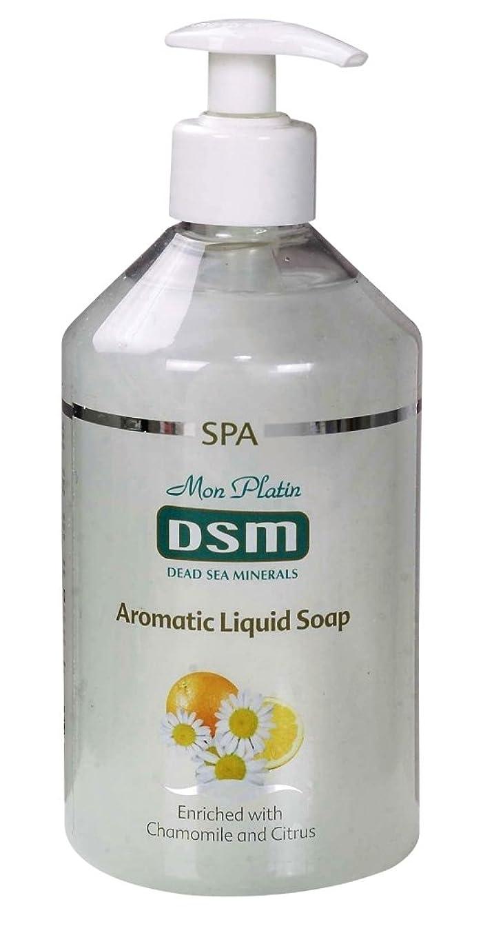 に渡って言うまでもなくしっとりかぐわしい香り付き官能的な、多目的の石鹸なしの石鹸 500mL 死海ミネラル A sensual, multi-purpose soapless soap, enriched with aromatic fragrances