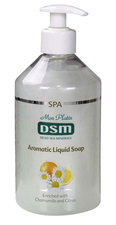 メンダシティガス台無しにかぐわしい香り付き官能的な、多目的の石鹸なしの石鹸 500mL 死海ミネラル A sensual, multi-purpose soapless soap, enriched with aromatic fragrances