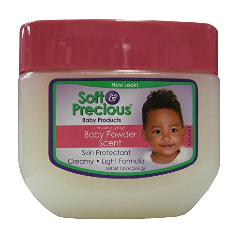 Soft & Precious Nursery Jelly Baby Products Baby Powder Scent - Vaseline 368g