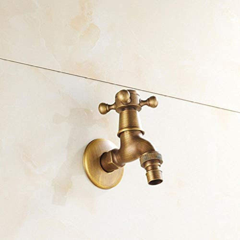 SH-CHEN Faucet Tap Total Brass Max 62% OFF Washin Using Double Ranking TOP12 Antique