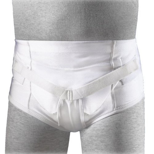 FLA Orthopedics 67-500LGSTD Soft Form Hernia Underwear Brief Large