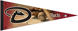 Bek Brands Major League Baseball Teams Flag Banner Pennant, 12 x 30 in, Soft and Durable (Arizona Diamondbacks)
