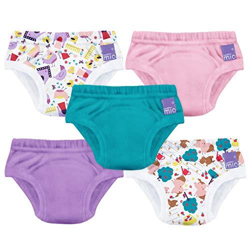 Bambino Mio, Potty Training Pants, Puddle Pigs, 3+ Years, 5 Pack