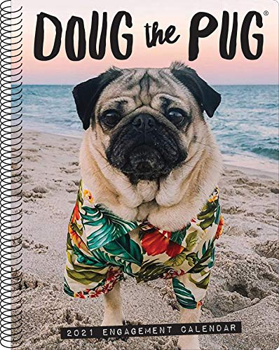 Doug the Pug 2021 Engagement Calendar (Dog Breed Calendar)