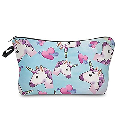 Unicorn Multi purpose Printed Makeup Bag- Pencil Case Or Cosmetic Brush Case