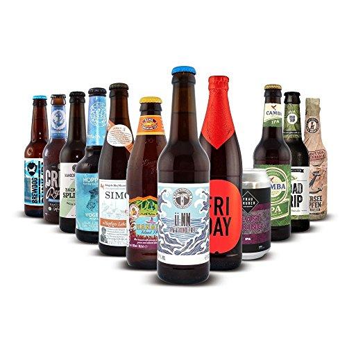 Craftbeer-Shop IPA - Bier Paket, MEHRWEG (9 x 0.33 l, 2 x 0.35 l, 1 x 0.66 l)