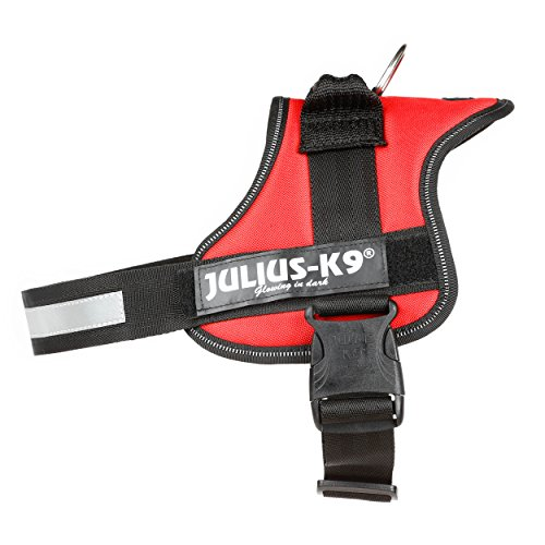 Julius-K9 Powerharness, Size 0, Red