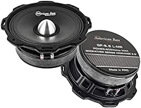 """$86 » American Bass GF-6.5 L-MR 6.5"""" Midrange Car Speakers Godfather 600 Watts Max 2 Pack"""