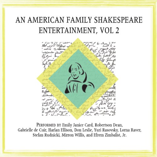 An American Family Shakespeare Entertainment, Vol. 2 (Dramatized) copertina