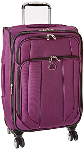 DELSEY Paris Helium Cruise Carry-on Exp. Spinner Suiter Trolley, Purple, One Size