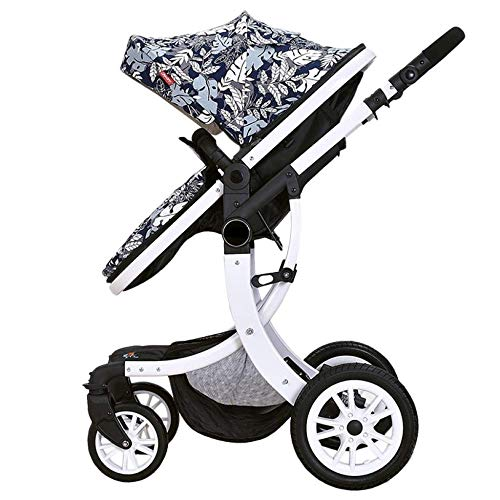 Best Prices! Comfortable Prams Baby Stroller High Landscape Travel System Buggy Bidirectional from B...