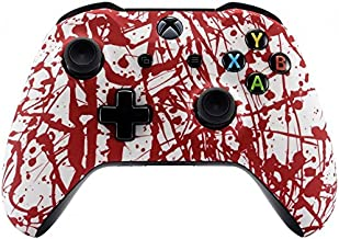 Xbox One Wireless Controller for Microsoft Xbox One - Custom Soft Touch Feel - Custom Xbox One Controller (Blood Splatter)