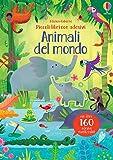 Animali del mondo. Piccoli libri con adesivi. Ediz. a colori