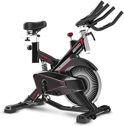 WEI-LUONG plegable Cubierta ciclo de la bici, correa de transmisión de interior la bicicleta estática, bicicleta estacionaria pantalla LCD for el hogar Cardio entrenamiento del entrenamiento de la bic