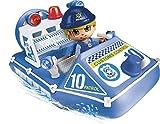 Pinypon Action - Lancha de policía con 1 Figura, para niños y niñas de 4 a 8 años, (Famosa 700015588)