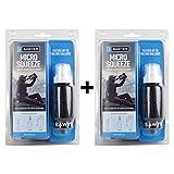 Sawyer Micro Squeeze SP2129 PointONE - Juego de 2 filtros de agua para camping, trekking y tratamiento de agua