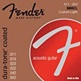 Fender 880CL 80/20 Dura-Tone Coated Acoustic Strings