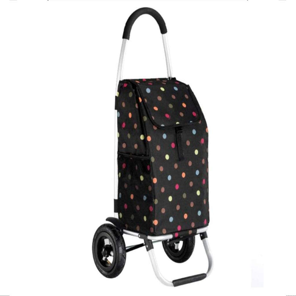 gujiu supreme Trolley Folding Shopping Cart Inflatabl Philadelphia Mall Stroller Portable
