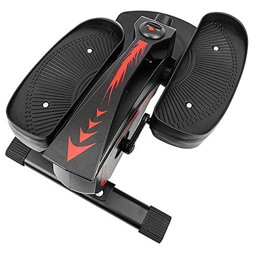 NAOKEY Mini Máquina Elíptica, Pedal de Bicicleta Elíptica de La Pierna En El Pedalier del Ejercicio de Home con Pantalla LCD, para El Entrenamiento de La Oficina En El Hogar