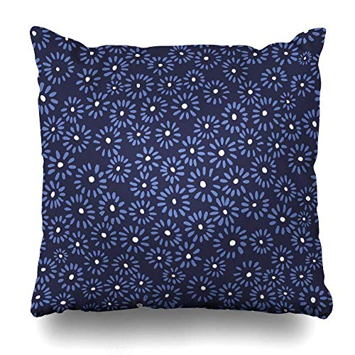 """Decorative Pillow Cover 18""""x18"""" Two Sides Printed Wallpaper Pattern Sample With Chrysanthemum Throw Pillow Cases Decorative Home Decor Indoor/Outdoor Nice Gift Kitchen Garden Sofa Bedroom Car Liv"""