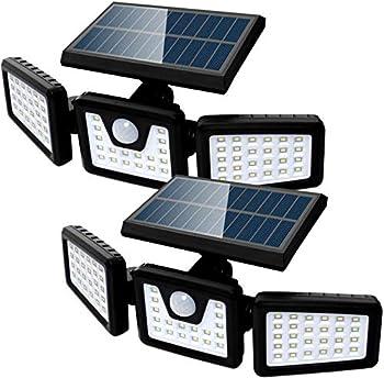 2-Pack Sefon IP65 Waterproof Outdoor Solar Lights