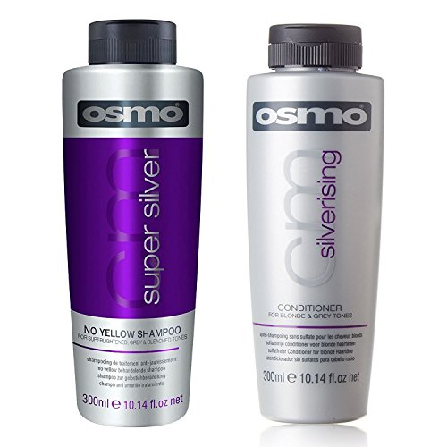OSMO Super Silber Gelb Shampoo & silverising Conditioner 300 ml Twin Pack